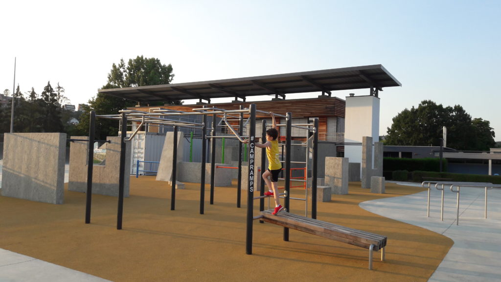 First design Parkour park remich kaizen parkour academy