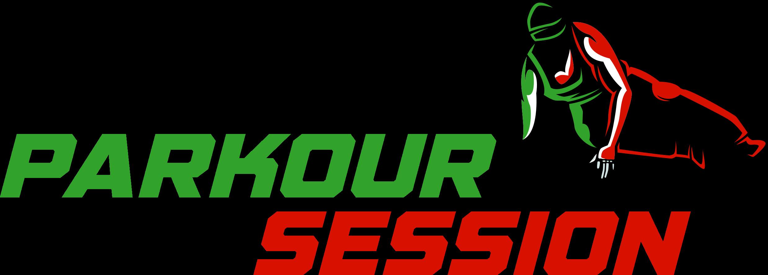 Parkour Session Logo Transparent